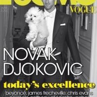 NOVAK DJOKOVIC EN LA PORTADA DE L'UOMO VOGUE JULIO / AGOSTO 2011